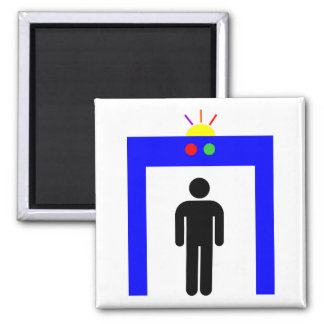 airport metal detector security alarm stick man sy magnet