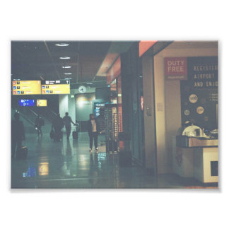 Airport Photo Print