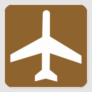 Airport Sign Stickers