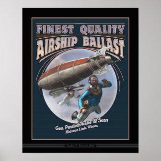 "Airship Ballast poster (16x20"")"