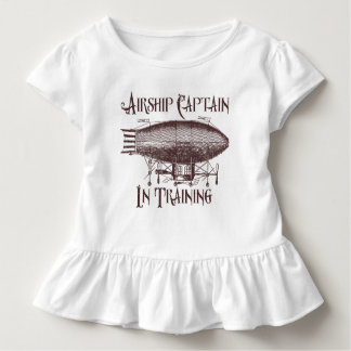 Airship Captain in Training, Steampunk for Kids Toddler T-Shirt