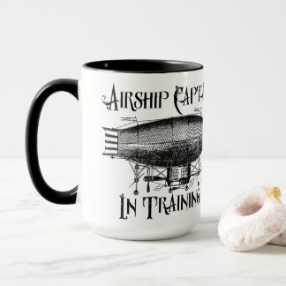 Airship Captain in Training, Steampunk Mug