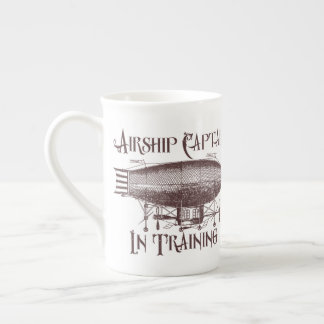 Airship Captain in Training, Steampunk Tea Cup