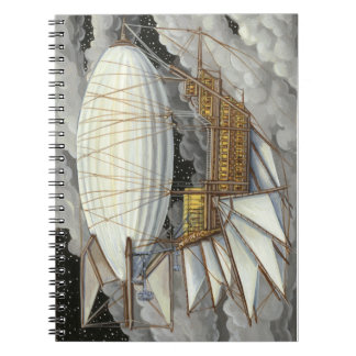 Airship Express Steampunk Notebook