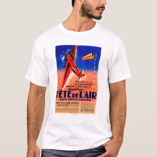 Airshow Featuring Haryse Hilsz Promotional Poste T-Shirt