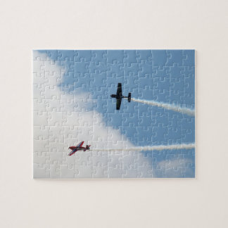 Airshow Fixed Wing Airplane Dogfight Jigsaw Puzzle