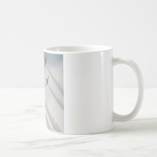 airshow plane composition coffee mugs