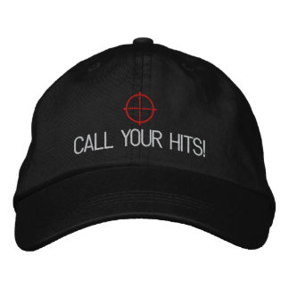"""Airsoft """"Call your hits"""" hat"""