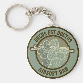 Airsoft Dad Keychain