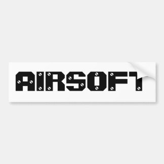 "Airsoft Gear ""Bumper Sticker"" Bumper Sticker"