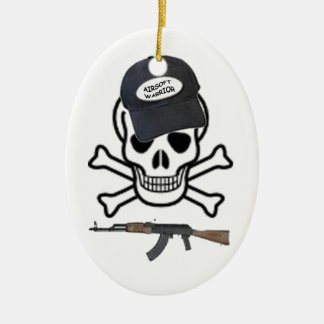 Airsoft Warrior Ornament