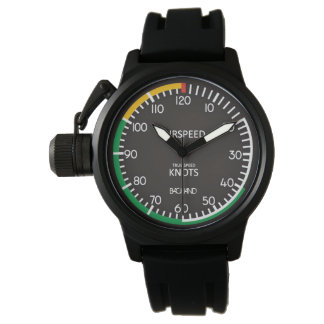 Airspeed Indicator Wristwatch