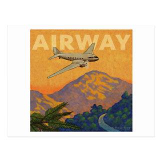 Airway Postcard