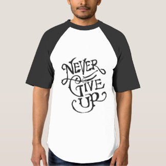 aisha series Never Give Up T-Shirt