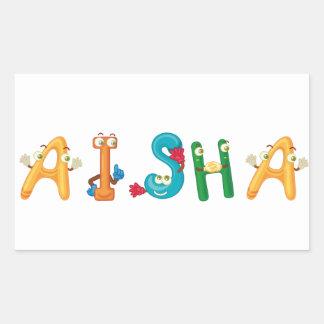 Aisha Sticker