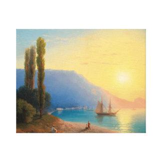 aivazovsky ivan konstantinovich  , maritime canvas print