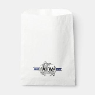 AIW 25th Anniversary Logo Favour Bag