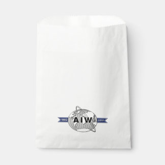 AIW 25th Anniversary Logo Favour Bags