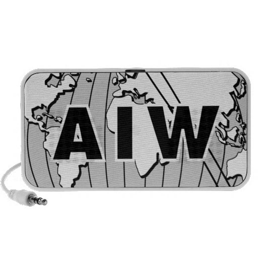 AIW Logo Speaker