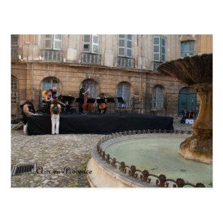 Aix en Provence-South of France Postcard