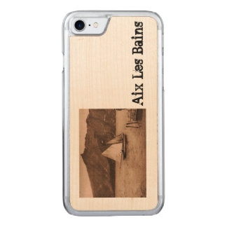 AIX-LES-BAINS - Lake Bourget - sailing boat Carved iPhone 8/7 Case