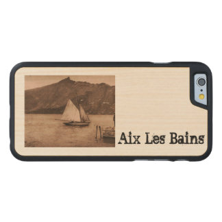 AIX-LES-BAINS - Lake Bourget - sailing boat Carved® Maple iPhone 6 Case