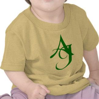 AJ Initials T Shirts