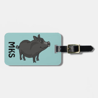 AJ- Pot Bellied Pig Luggage tag
