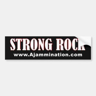 Ajammination: Strong Rock Bumper Sticker