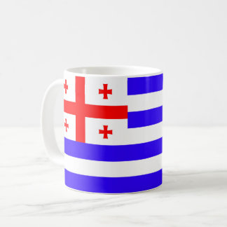 Ajaria Adjaria Adjara republic flag symbol georgia Coffee Mug
