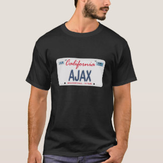 AJAX License Plate T-Shirt