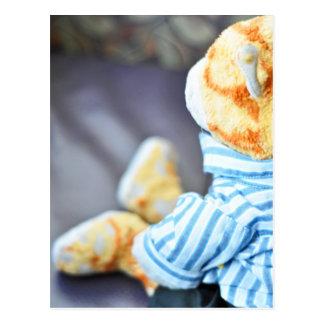 Ajay's Teddy Bear Postcard
