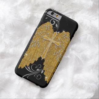 AJR-GS-3-angels-wings-BLK.jpg Barely There iPhone 6 Case