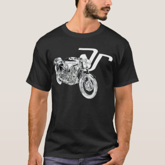 AJS 7R Boy Racer Motorcycle T Shirt