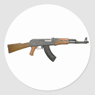 ak47 classic round sticker