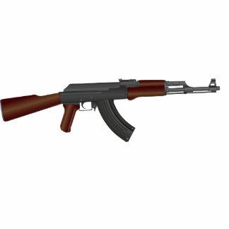 AK47 STANDING PHOTO SCULPTURE