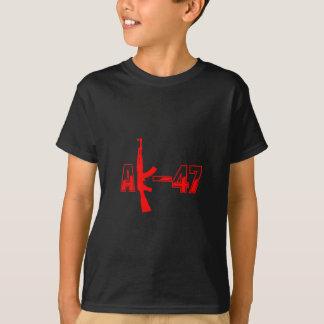 AK-47 AKM Assault Rifle Logo Red.png Shirts
