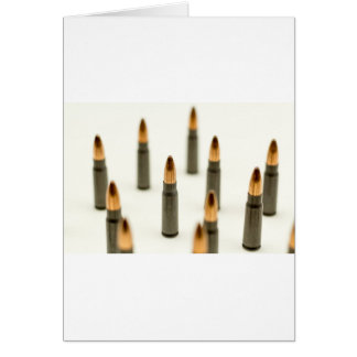AK-47 Ammo Bullet AK47 Cartridge 7.62x39 Card