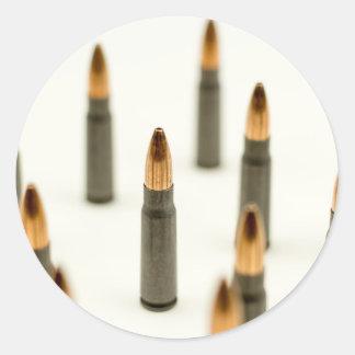 AK-47 Ammo Bullet AK47 Cartridge 7.62x39 Classic Round Sticker