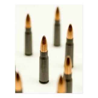 AK-47 Ammo Bullet AK47 Cartridge 7.62x39 Postcard
