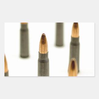 AK-47 Ammo Bullet AK47 Cartridge 7.62x39 Rectangular Sticker