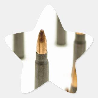 AK-47 Ammo Bullet AK47 Cartridge 7.62x39 Star Sticker