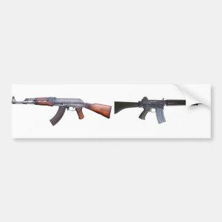 AK-47 & AR-18 CAR BUMPER STICKER