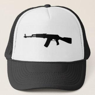 AK-47 assault rifle Kalashnikov Trucker Hat