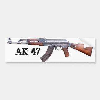 AK-47 CAR BUMPER STICKER
