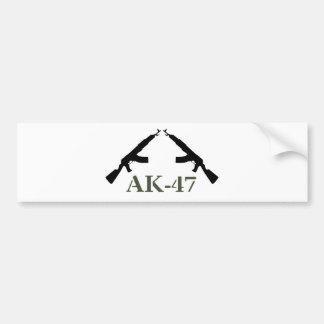 AK-47 BUMPER STICKER