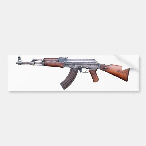 AK-47 BUMPER STICKERS