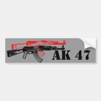 AK 47 BUMPER STICKER