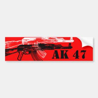 AK 47 CAR BUMPER STICKER