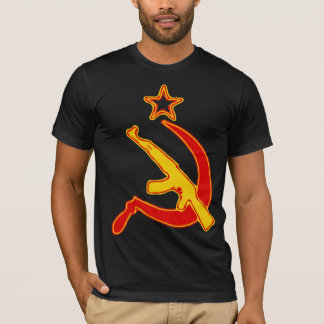 AK-47 & Sickle *with Star* T-Shirt